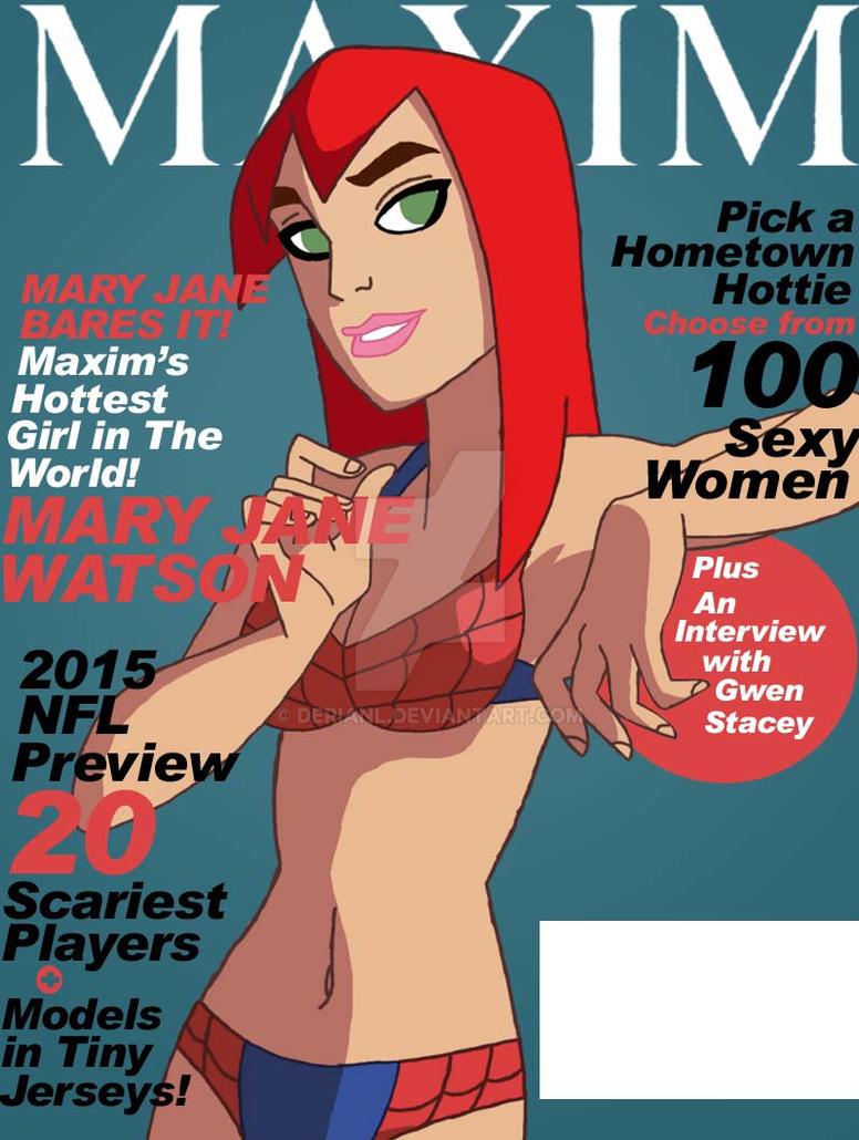 Mary Jane Watson Magazine Cover by derianl