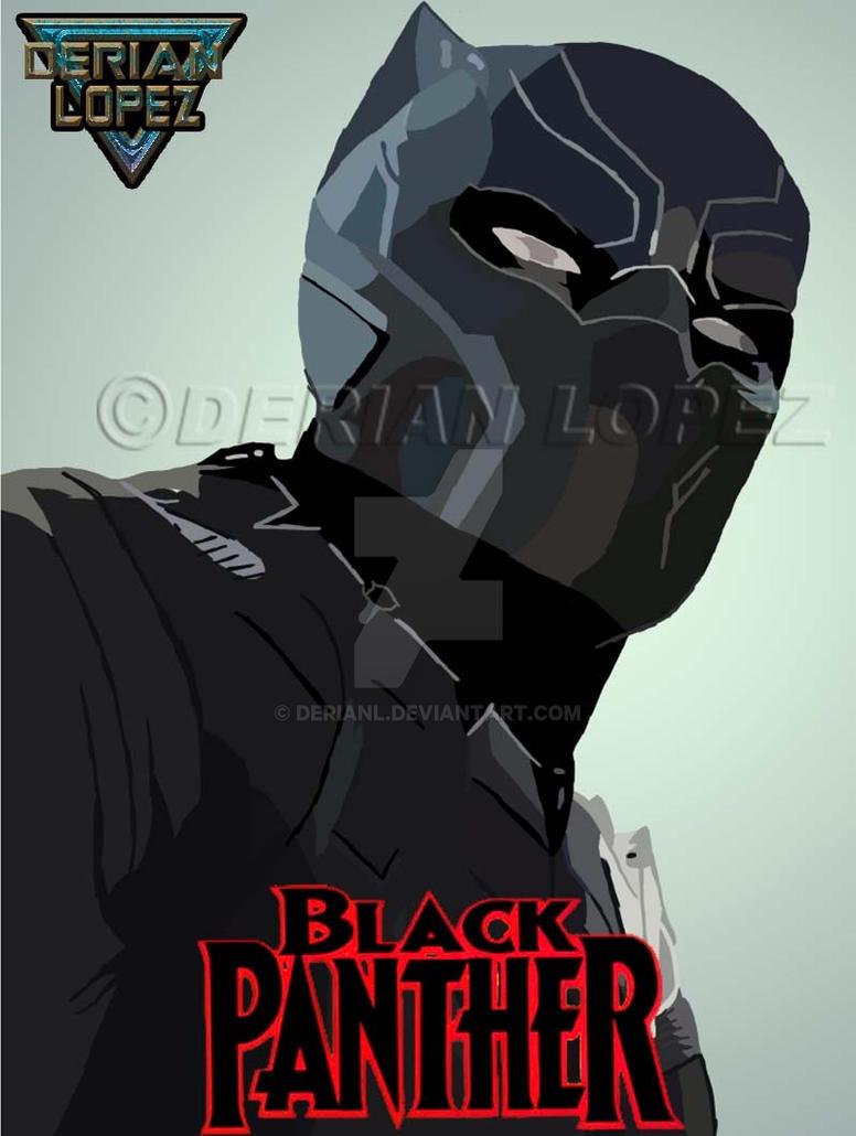 Black Panther (Comics) by derianl