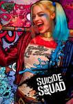 Harley Quinn Suicide Squad Pop Art Poster