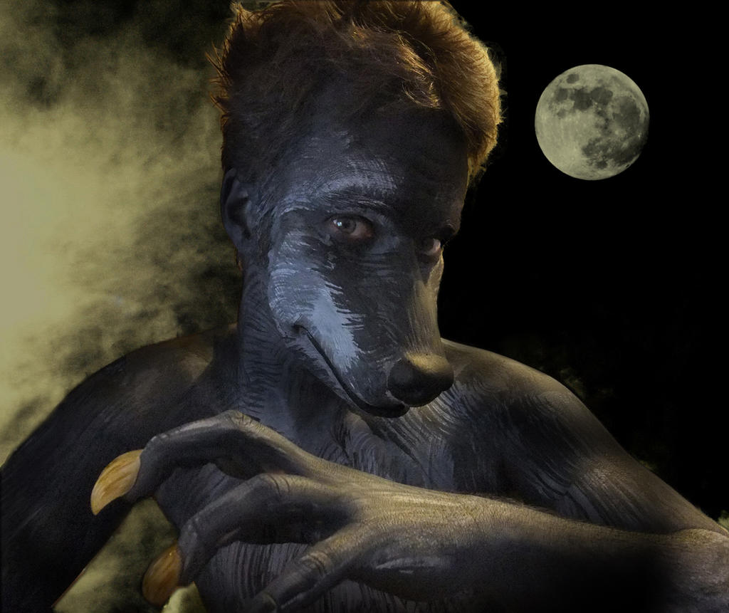Wolf Anthro Boy Wolf Boy by Ncreatured