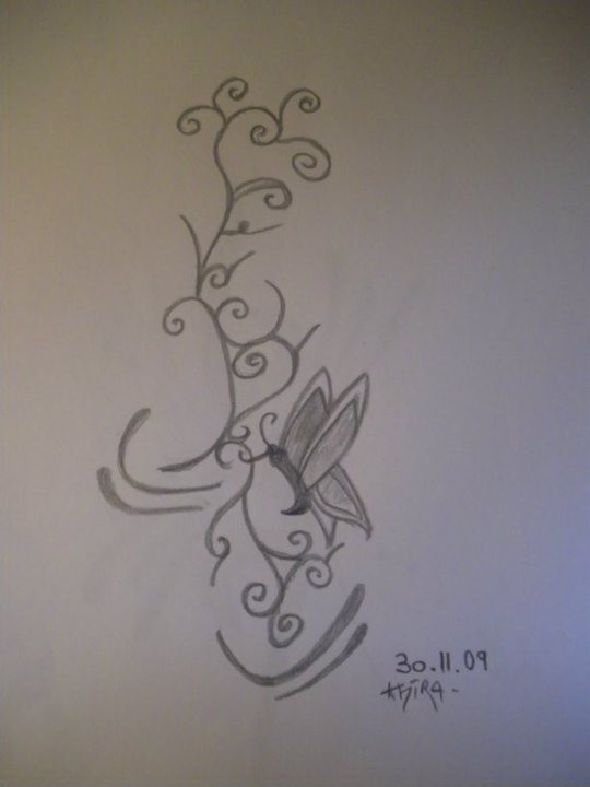 Modele tatouage papillon by khira sakura on deviantart - Modele papillon ...
