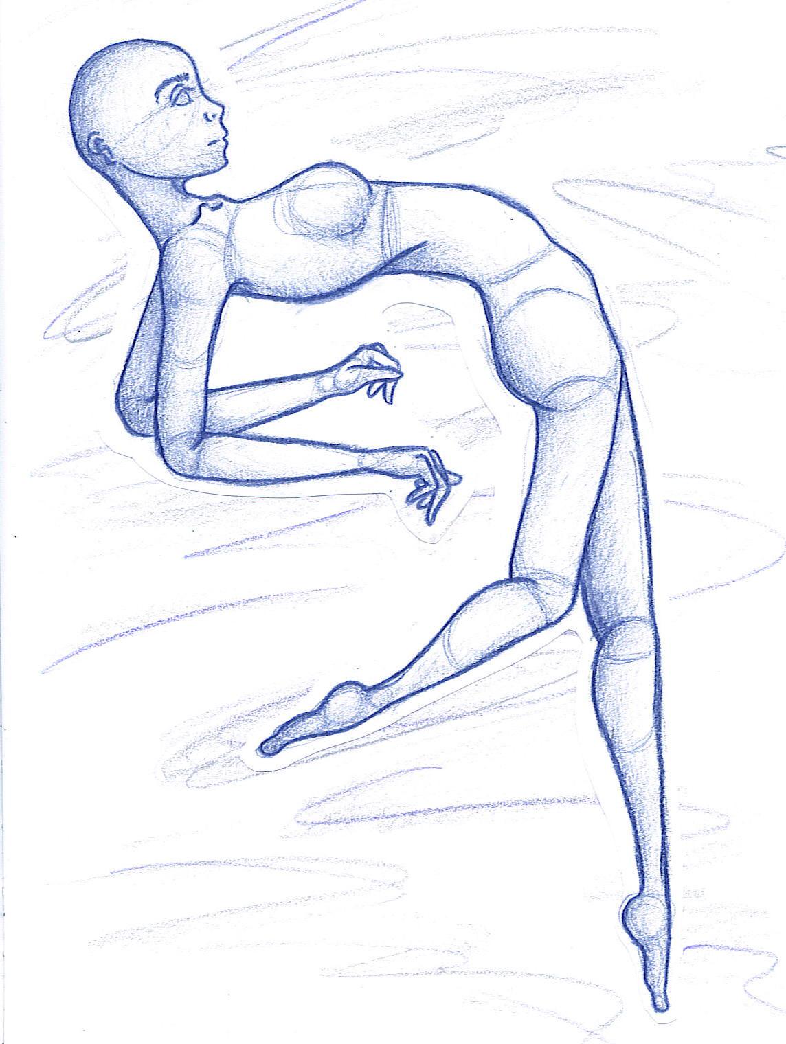 Human Body Pencil Drawings