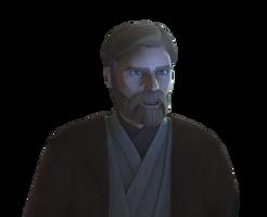 Obi-Wan Star Wars Clone Wars Season 7 Transparent