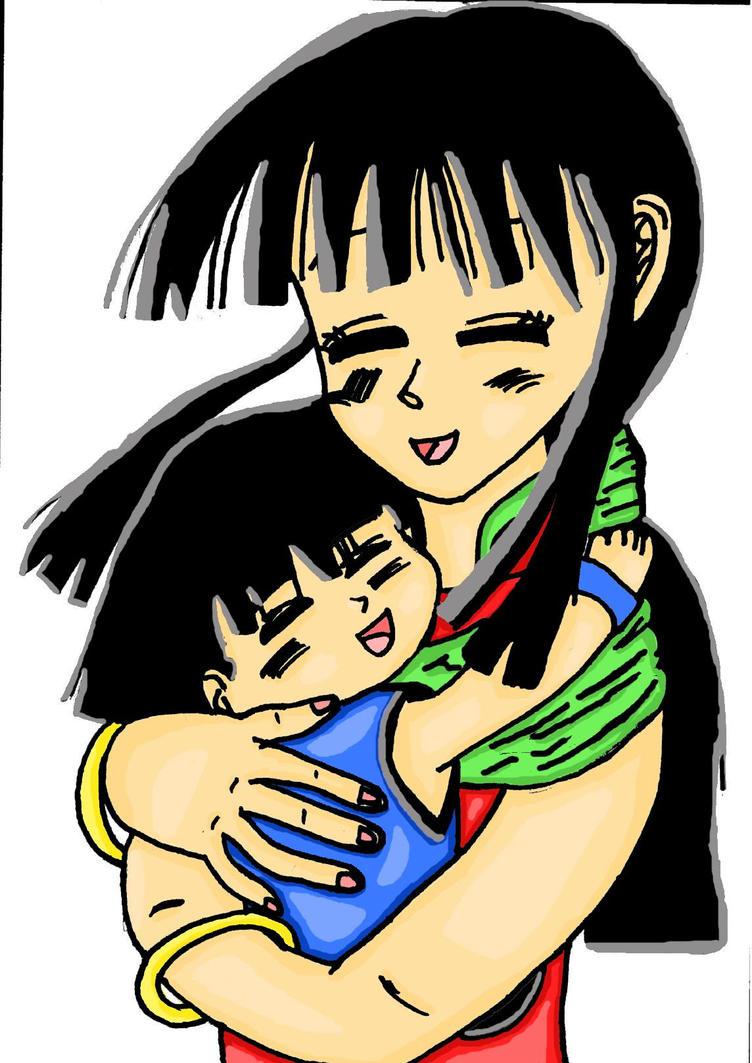 gohan and chichi: