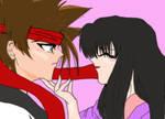 Sano and Megumi awwwww