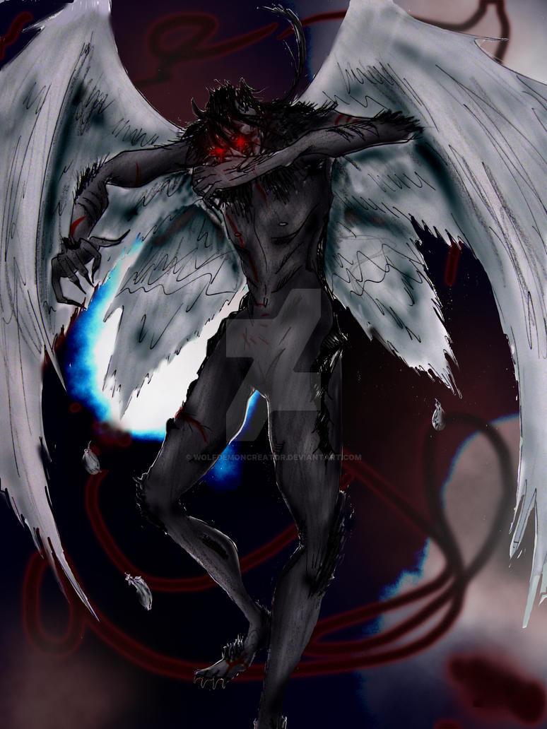 shadow demon true form by wolfdemoncreator on deviantart