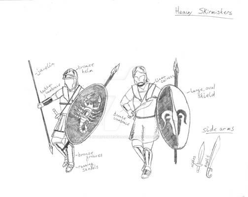 Heavy Skirmishers