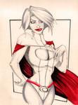Powergirl's secret money pouch