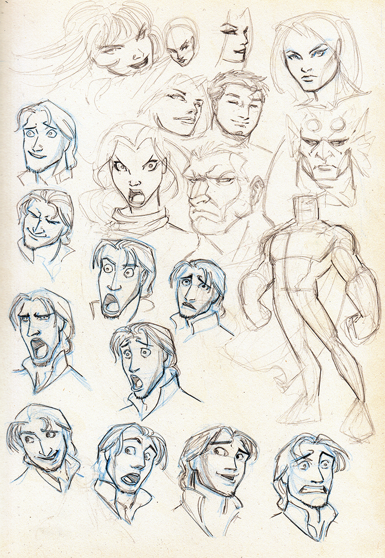 Expressions and Disney by MarcFHuizinga on DeviantArt