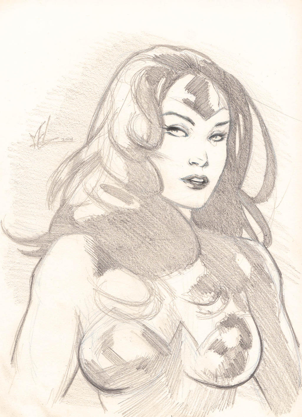 Princess of Themyscira by Marc-F-Huizinga