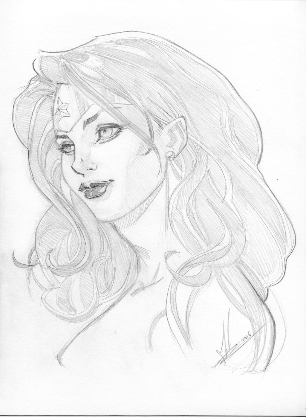 Diana by Marc-F-Huizinga