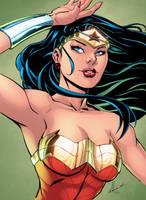 Wonder Woman COLORS by Marc-F-Huizinga