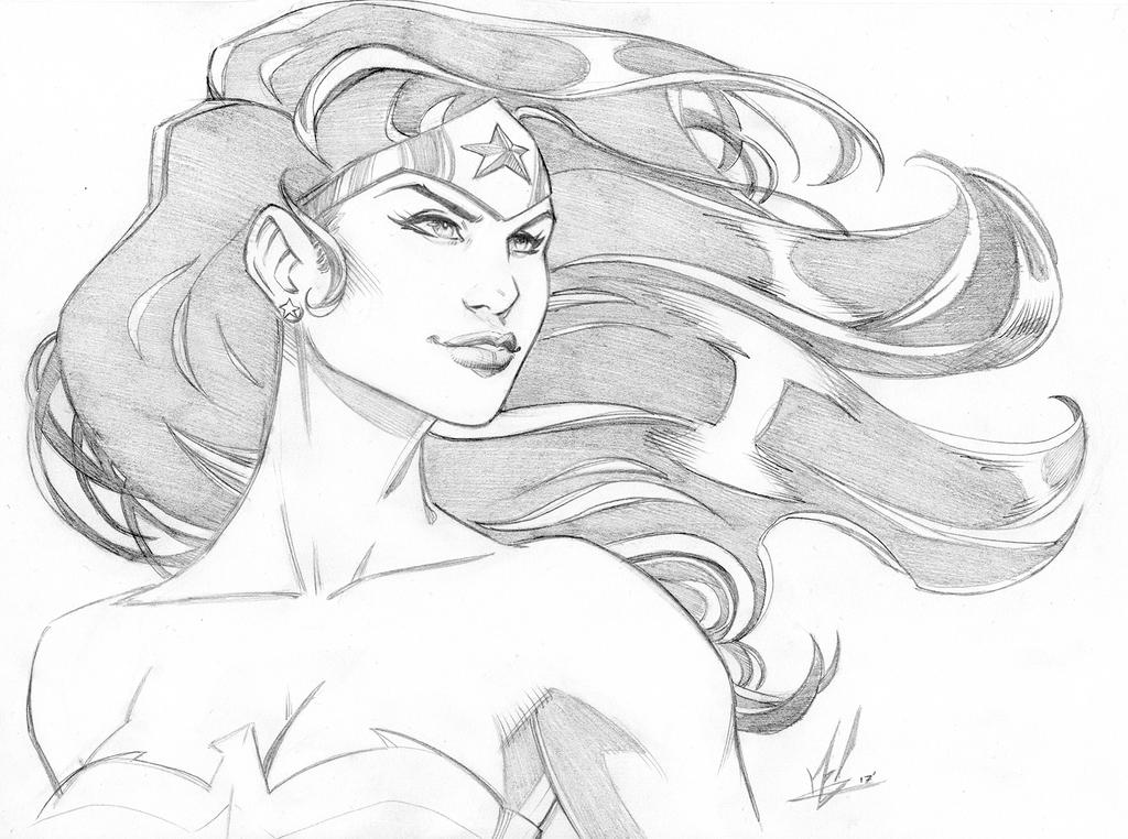 Wonder Woman by Marc-F-Huizinga