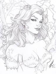Poison Ivy Commission by Marc-F-Huizinga