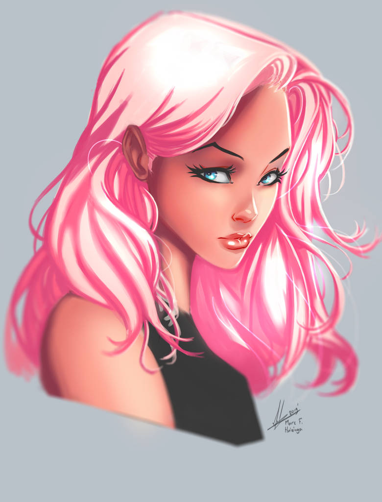 Hot Pink by Marc-F-Huizinga