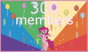 300 Members by urimas