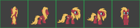 My OC sprite by urimas