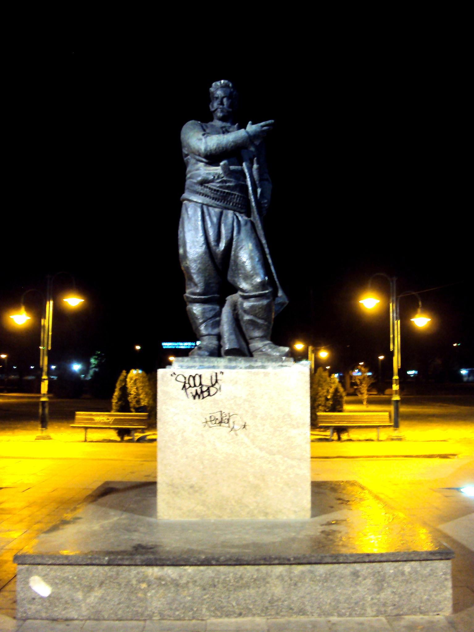 Spomenik Goce Delcev Skopje By Tihobo On Deviantart