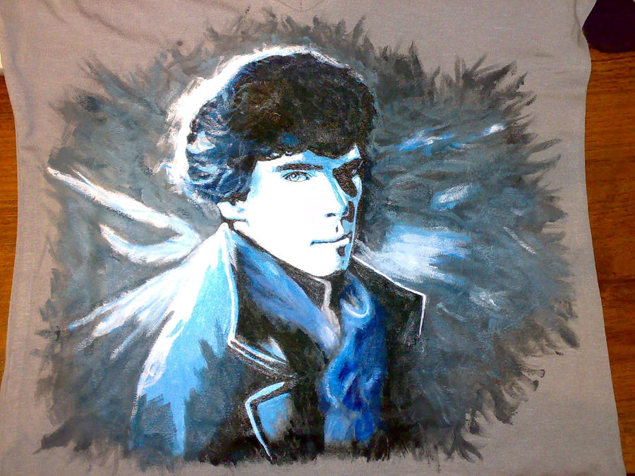 Sherlock T-shirt_2 by Vanadia49