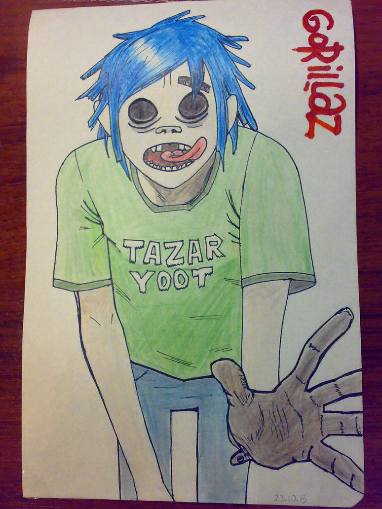 Gorillaz by Vanadia49