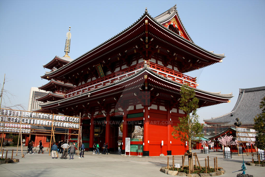 Japan temple by Elegant-as-phoque
