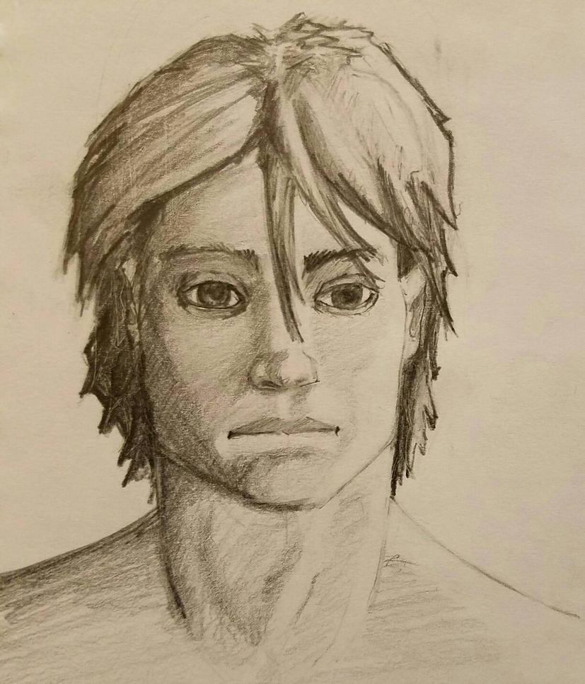 Face Practice - Sketch book by gkgaines