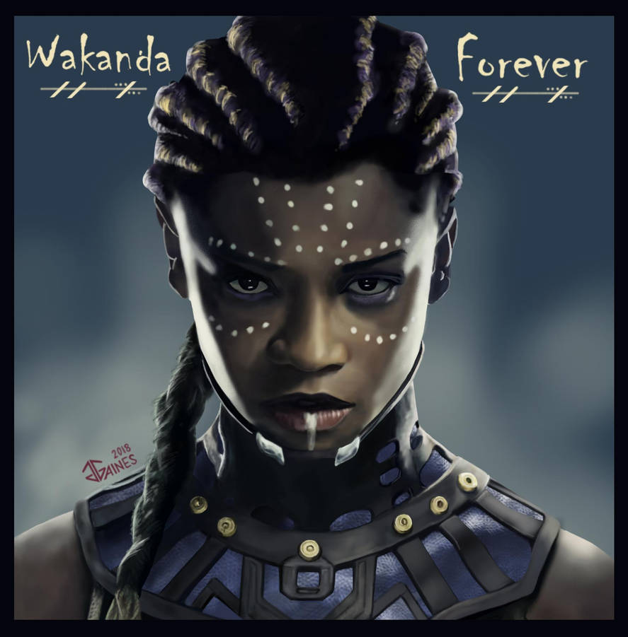 Black Panther - Shuri by gkgaines