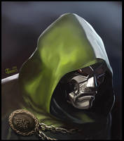 Doctor Doom by gkgaines