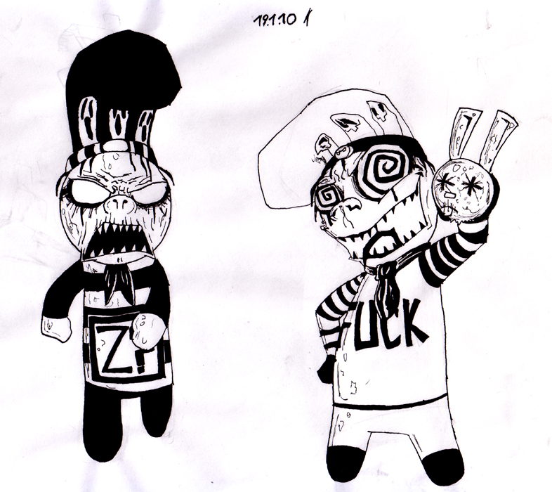 Mr. Fuck and D.Boy by Spaffi