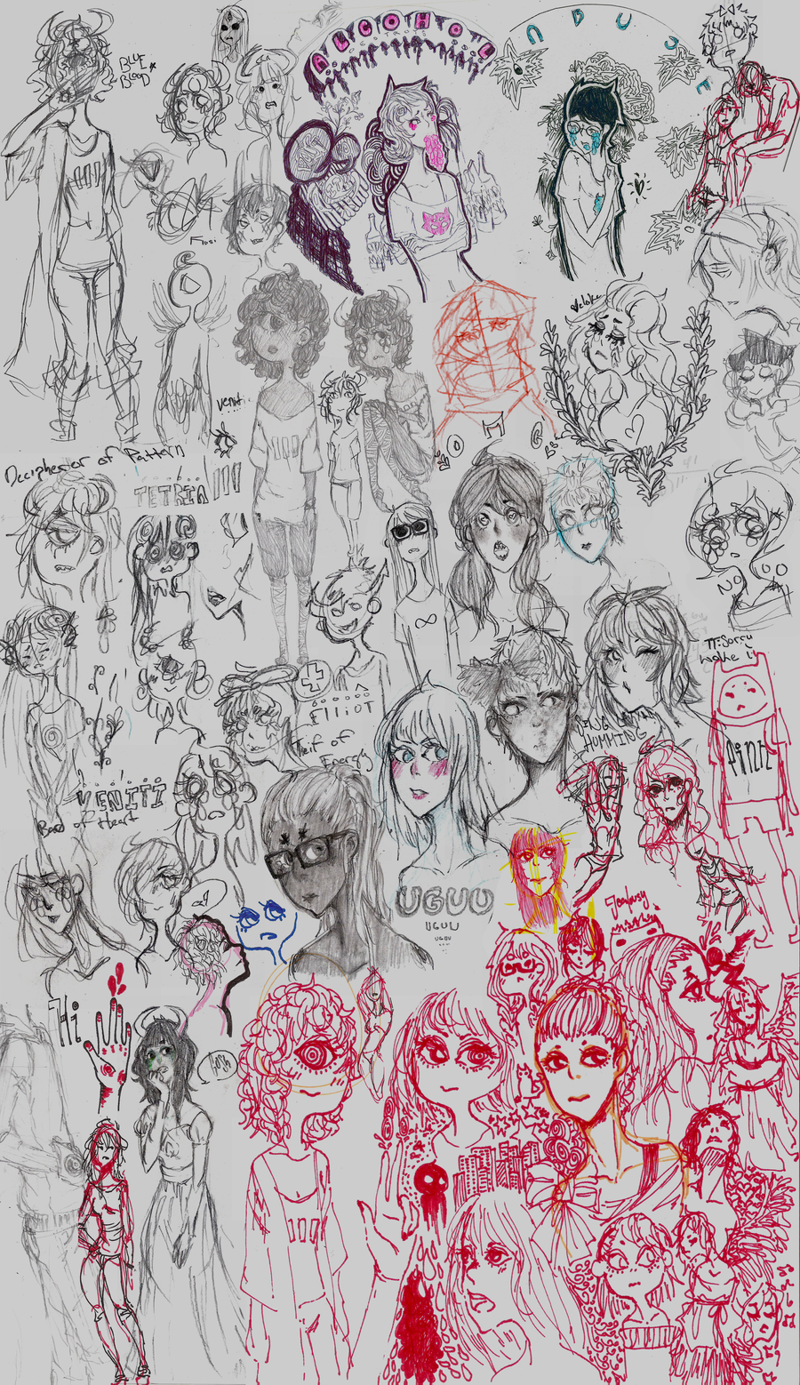 Doodle Dump because why not by swinages