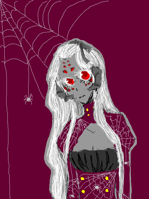 Spider Babe by swinages
