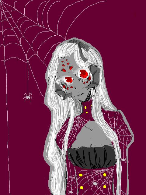 Spider Babe by rectumery