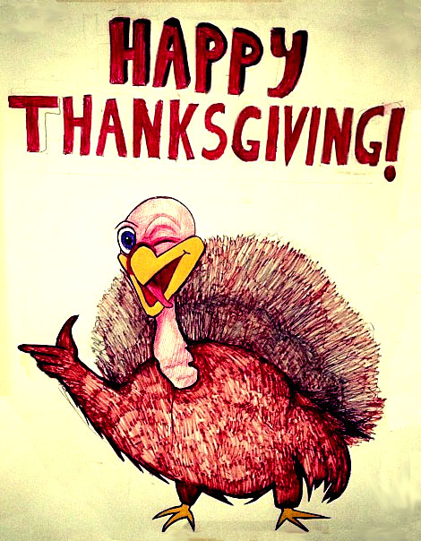 Happy Thanksgiving Poster by Holcombe on DeviantArt