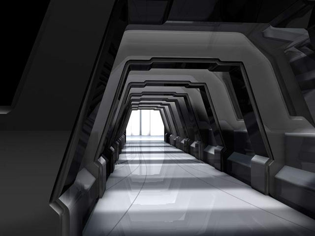 Sci Fi Hallway By COZMONATOR On DeviantArt