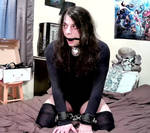 Locked Up and Ball-Gagged