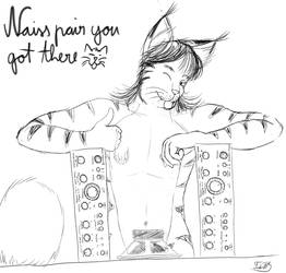 [Cat Month] Naiss pair you got there :P (25/31) by Tiido