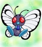 Butterfree by Andledee