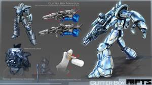 RIFTS Project : Glitterboy