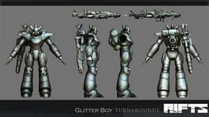 RIFTS :Glitterboy Turnaround