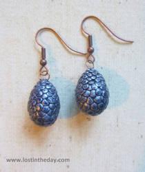 Dragon Egg Earrings