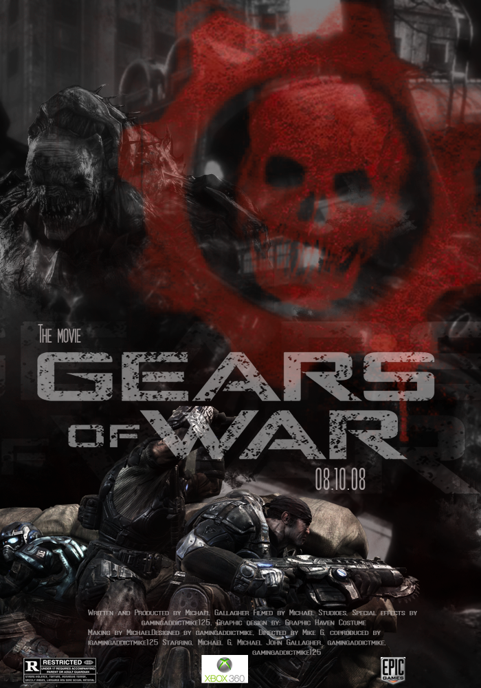 Gears of War The Movie by gamingaddictmike125