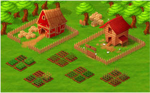 Farm Social Game VisDev by diegodandrea