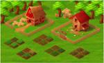 Farm Social Game VisDev