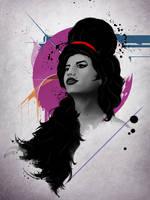 Amy Winehouse by diegodandrea