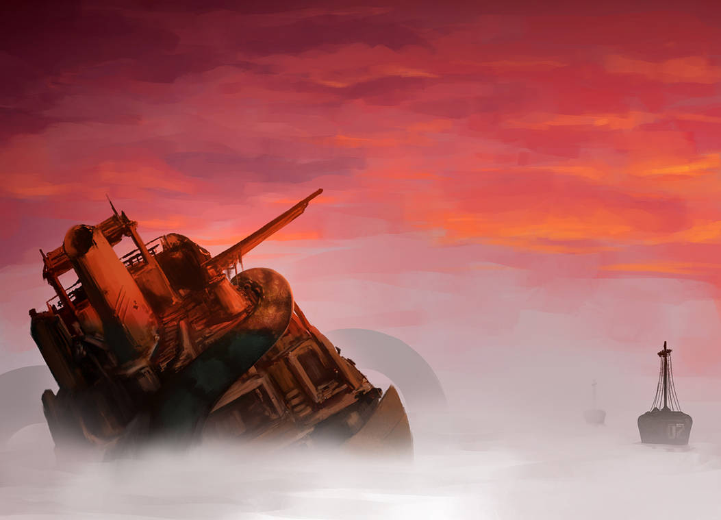 Wrecked Ship by diegodandrea