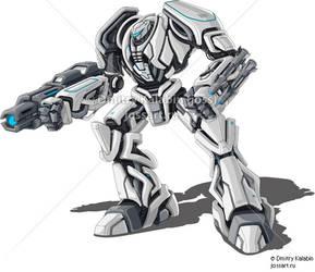 Robot Guardor by kit8net