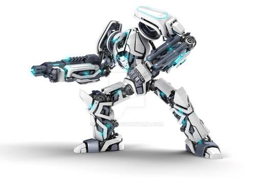 Guardor 3d robot