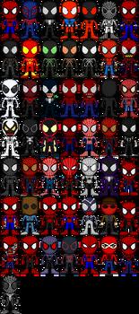 [OLD] Spider-Man 50th Anniversary, 50 Spidey by FriendAlias