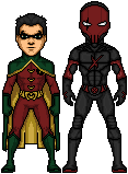 Young Justice Red X by spid3y916