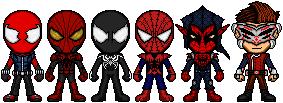 My Spiders Heroes by FriendAlias